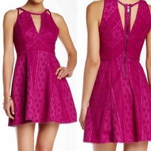 EUC Free People Pink Missed Connection Dress 2